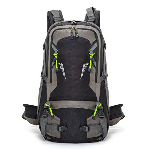 LXXYJ Outdoor Trekking Backpack,Hiking Backpack,Waterproof Camping Backpacking Suitable for Women Men Child Running Cycling Mountaineering Travel,black,40L