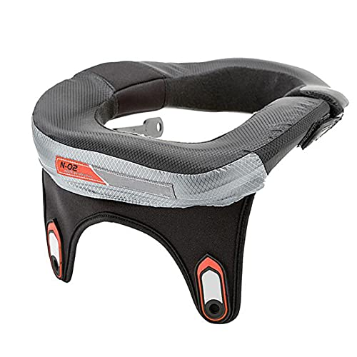 EnweKapu Motocross Nackenschutz, Nackenprotektor, Anti-rutsch Schützt die Wirbelsäule, Protektor Nacken für Motorräder, Fahrräder, Skifahren, Snowboarden, Eislaufen 32x28cm