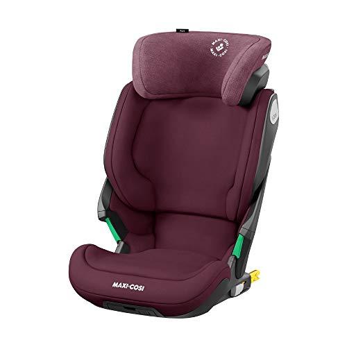 Maxi-Cosi Kore i-Size Kindersitz, mitwachsender Gruppe 2/3 Autositz mit ISOFIX (15-36 kg), Kinderautositz mit max. Seitenaufprallschutz, ab ca. 3, 5 Jahre bis ca 12 Jahre, authentic red (rot)