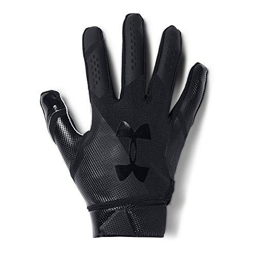 Under Armour - Spotlight NFL American Football Handschuhe - Black/Black - Medium