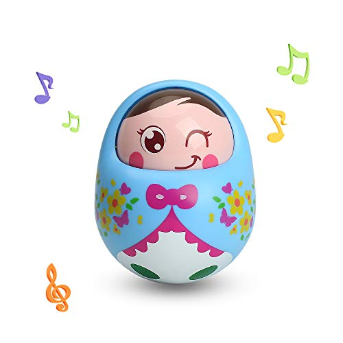 TINOTEEN Tumbler Toy Roly Poly Wobbler Baby Toy para 3 Meses Bebés Niños pequeños