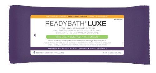 MEDLINE MSC095100H ReadyBath Luxe Total Body Cleansing Heavyweight Washcloths