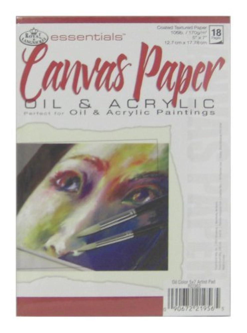 Royal & Langnickel Canvas 5x7 Paper Pad
