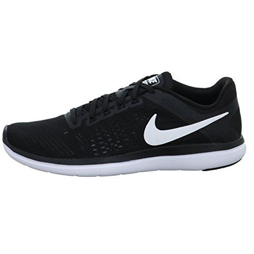 Nike Women's Flex 2016 RN Prem Running Shoe (5.5 B(M) US, Black/White/Cool Grey)