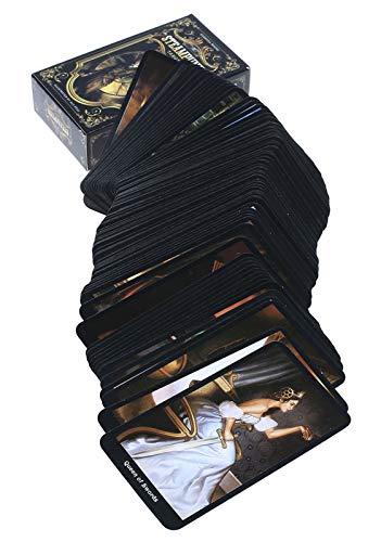 GWQDJ Der Steampunk Tarot, Universal Vintage Wildination Future Game Card Sets, Tarot-Liebhaber