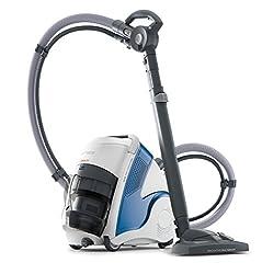 POLTI PBEU0100 Unico MCV80_Total Clean und Turbo Dampfsauger, tötet und beseitigt 99,99%* der Viren, Keime und Bakterien, 2200 W, 6 Bar, stahlblau