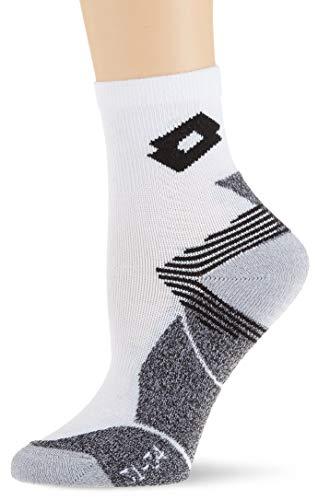 Lotto Damen Ace Socken, Mehrfarbig (Weiß/Schwarz), 31-34 (Herstellergröße:1)