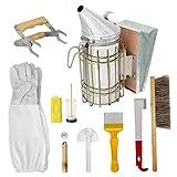 Apicoltura corredo di attrezzi Bee Hive Starter Kit, Alveare fumatore, Apicoltura Accessori di...