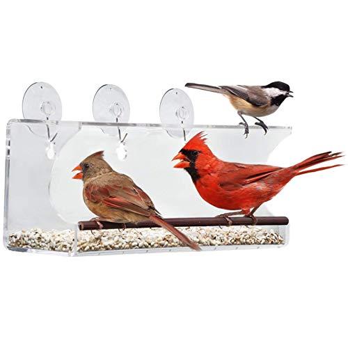 Tranquil Outdoors Large Acrylic Window Bird...
