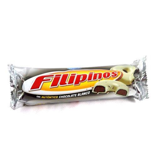 Filipinos mit weisser Schokolade