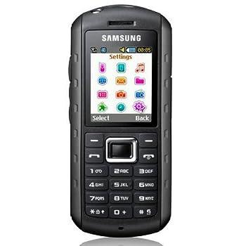 Samsung B2100 Unlocked Quad-Band Phone Extreme Anti-Shock Waterproof Built-in Flashlight Bluetooth-International Version-Black
