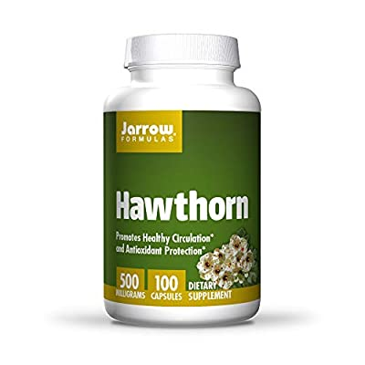 Jarrow Hawthorn (500mg, 100 Capsules) by Jarrow FORMULAS
