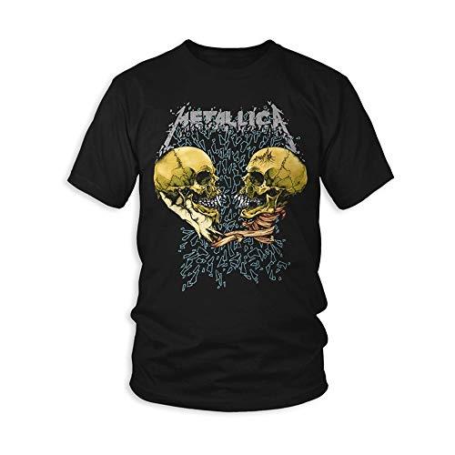 Metallica METTS25MB04 Camiseta, Negro, XL para Hombre