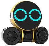 Kinder Spielzeug Bluetooth Roboter, wiederaufladbarer sprechender Roboter, singen, tanzen, sprachgesteuert, Geschenk für Jungen und Mädchen (Yellow)