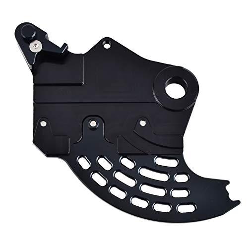 Mszhang Protector de protección del Disco de Freno Trasero CNC/Ajuste para Beta 200 250 300 350 390 400 430 450 480 500 500 RR RS 2T 4T / FIT para Enduro Racing 2013-2020 (Color : Black)