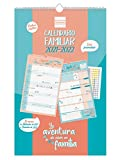 Finocam - Calendario de Pared Familiar Aventura Basic 16 meses 2021 2022 Mes Vista Español, basic -...