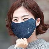 Fashion Protective Face Masks, Unisex Dust Cotton Mouth Masks 1 pack