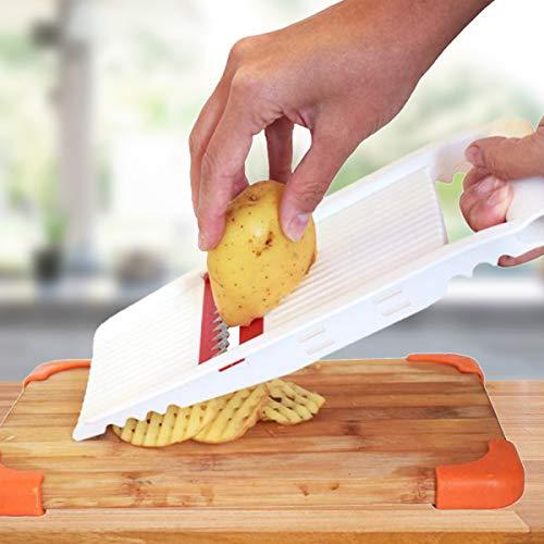 Fatiador De Frios Legumes Queijo Manual 5 Em 1 Picador