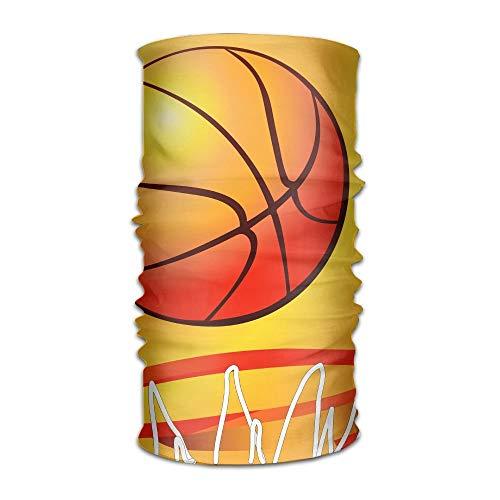 KKXXJH Deportes Baloncesto Textura Headwrap Unisex Headwear Diadema Bufanda De Cuello Elástico Do Rag Cap Magic Head Bufanda