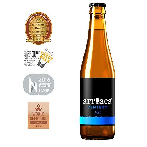 Cerveza Artesanal ARRIACA CENTENO (24 botellas x 33cl)