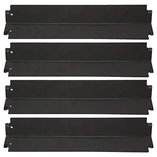 Placa de calor BQ, 4 piezas de repuesto de protector de placa de calor de parrilla de acero inoxidable ajustable de alta resistencia, tienda de calor, barra aromatizante, cubierta de quemador, do