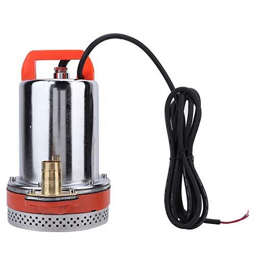 Pomp, ondergedompelde waterpomp, 24V elektrische eentraps kleine roestvrijstalen huishoudelijke waterpomp, geschikt voor batterijvoertuig, auto, schepen en batterijen