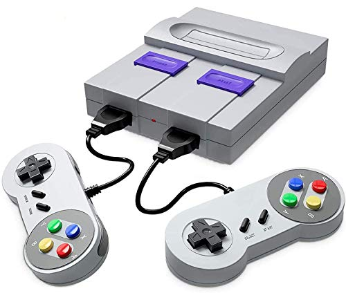 Classic Retro Game Console, AV Output Video Game Built-in 400 Games with 2 Classic Controllers