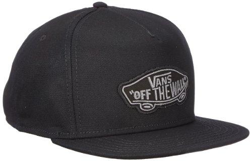 Vans Herren Kappe M Classic Patch Snap VTLSBLK, Gr. One size, schwarz (Black)