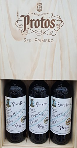 Estuche Madera Protos 27-3 Botellas 75CL