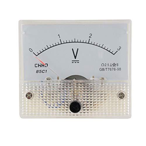 WITTKOWARE Einbaumessinstrument, analog, 64x56mm, Voltmeter 15V/AC