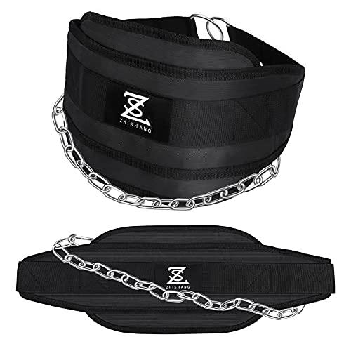 Cinturón deportivo cinturon lastre dominadas con cadena de hierro,protección para espalda y cintura, evita lesiones,aplicar para dominadas,boxeo,levantamiento de pesas,musculación training,gimnasio