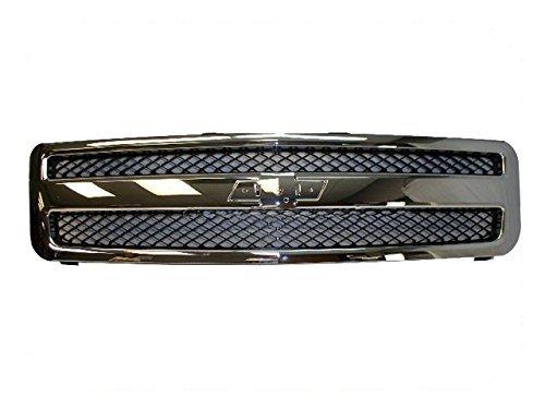 07 chevy silverado grill black - 4