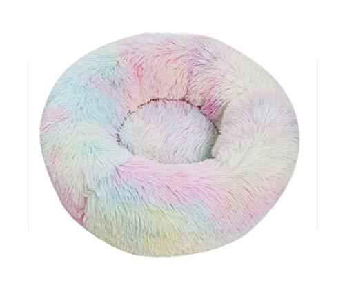 Hondenmand - Cama para perros (felpa, muy suave, cómoda, para perros y gatos grandes, tamaño XS, 40 cm de diámetro)