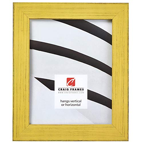 Craig Frames Jasper Picture Frame, 24 x 36 Inch, Country Southern Yellow