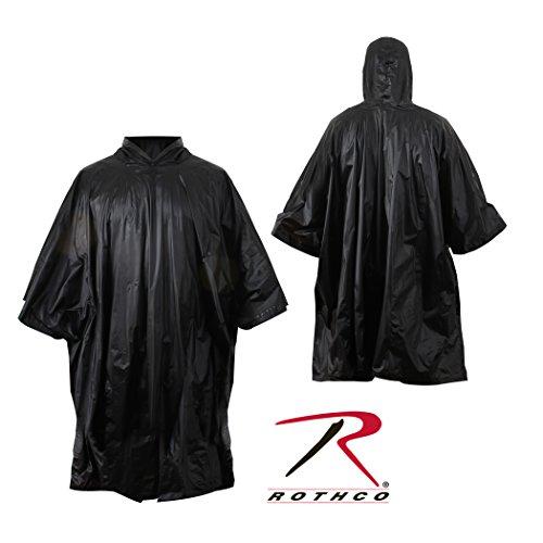 Rothco R/S Poncho, Black