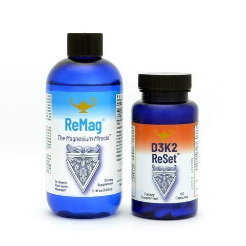 RnA ReSet - ReMag D3K2 Reset Bundle, Liquid Magnesium and Vitamin D