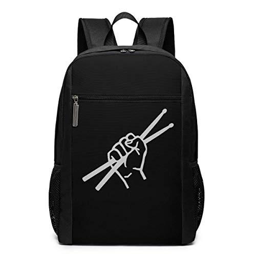 Sac à dos d école, sac à dos de voyage, baguettes de batterie, sacs à dos d école, grands sacs à bandoulière pour ordinateur portable pour homme, femme, enfant