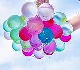 Wasserballons, Water Balloons, 222PCS Wasserbomben in 60Sekunden selbstschließend ohne Knoten Wasserballons Kurzzeitig Füllen Kit
