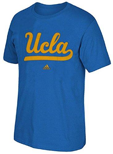 adidas UCLA Bruins Mens Deporte Royal High End Parche Camiseta de Manga Corta T, Hombre Unisex, Azul