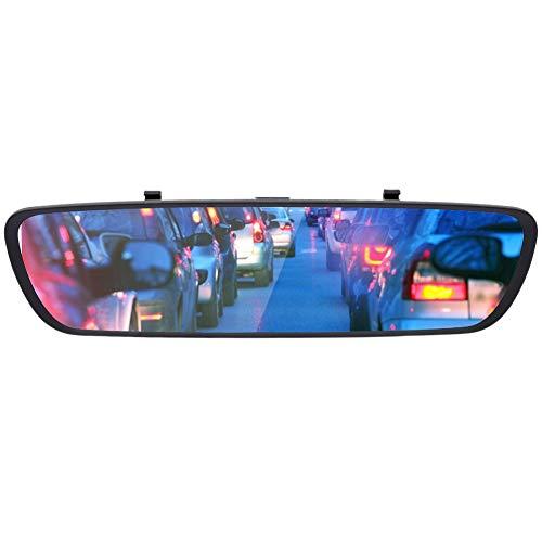 Grabadora DVR para coche G-Sensor Pantalla táctil Cámara de visión trasera Visión nocturna Monitoreo de estacionamiento de 24 horas Lente dual para estacionamiento Grabadora de autos