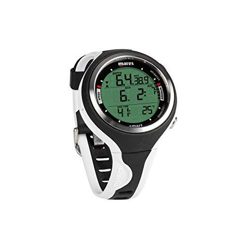 Mares Smart Reloj, Unisex Adulto, Black/White, One Size