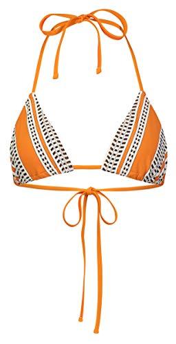 LEMLEM Amira Triangle String Top Orange