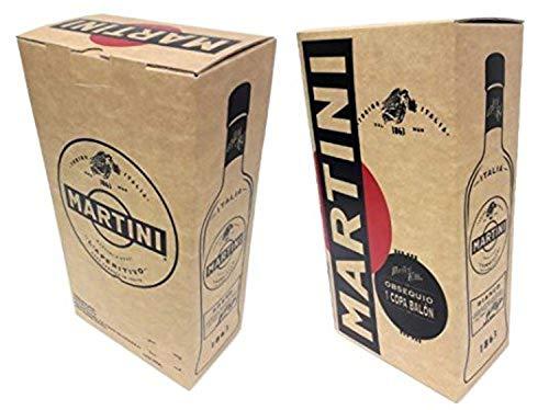Martini Rosso Vermouth 1L con obsequio de 1 copa