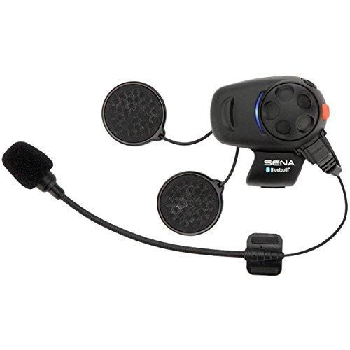 Sena SMH5D-01 Bluetooth-Headset und Gegensprechanlage für Roller und Motorräder, Doppelpack - vom Hersteller eingestellt