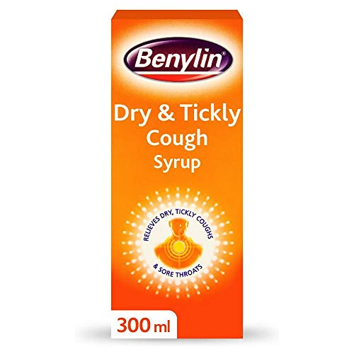 BENYLIN Dry & Tickly Cough Syrup - Targeted Relief For Your Cough - Cough...