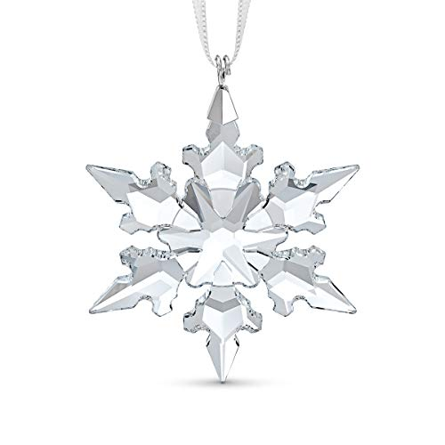 Swarovski Little Snowflake Christmas Ornament, Swarovski Crystal Christmas Tree and Home Ornament