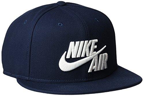 Nike Sportswear Air True Snapback Schirmmütze, Obsidian/White, One Size