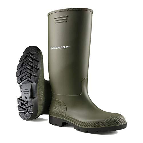 Dunlop Mens Pricemastor Groen Synthetische Wellington Laarzen 11 UK