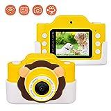 Upgrow Appareil Photo numérique WiFi pour Enfants avec étui de Protection de Dessin...