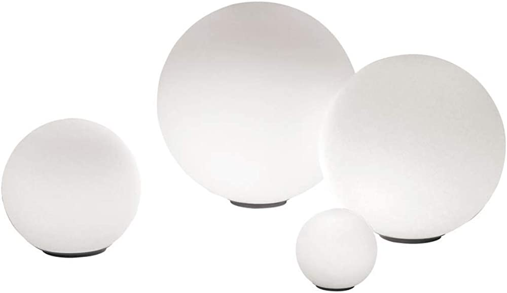 Artemide dioscuri ,lampada da tavolo 14,in vetro soffiato olicarbonato 0146010A